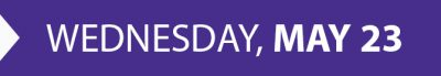 xCITE Wednesday, May 23, 2017